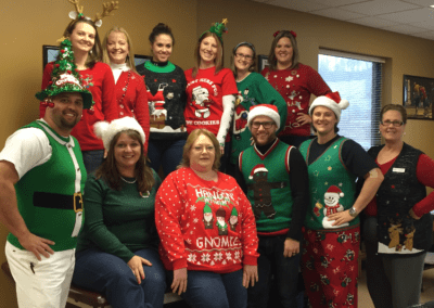 MedCare Therapy Center Christmas Staff Photo